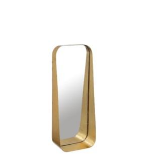 """Agna mirror gold - 7x3.5x18"""""""