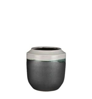 """Frati vase round white - 7x7.5"""""""
