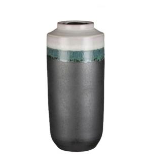 "Frati vase white - 6.25x13.75"""
