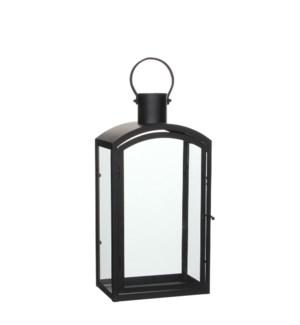 "Lantern black  - 9.5x6.25x18.25"""