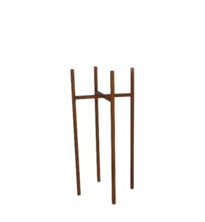 Ascot plant stand rust  - 9.5x9.5x21.75""