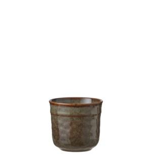 """Noah cup brown  - 3.25x3.25"""""""
