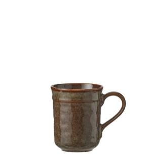 """Noah cup brown  - 3.25x4.25"""""""