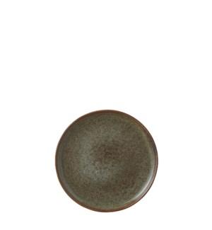 "Noah plate brown  - 8.25x0.75"""