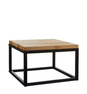"""Oskar table black  - 15.75x15.75x10.25"""""""