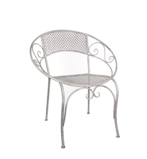 "Provence Chair 26x22x30"" White"