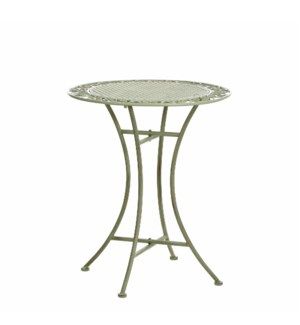 "Provence Table 24x27.5"" Green"