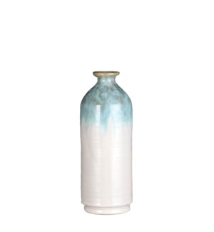 "Janice bottle turquoise - 4x10.75"""
