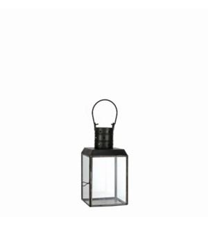 "Bengale lantern black antique - 4.5x4.5x9"""
