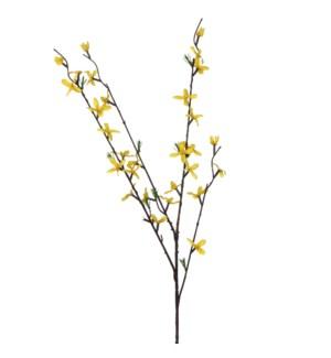 """Forsythia yellow - 32.25x8"""""""