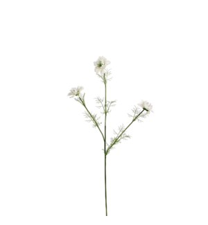 Corn flower white - 27.5""