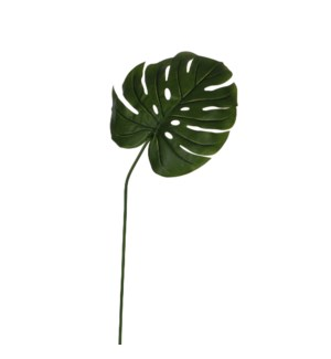 "Monstera leafs green - 39.5"""