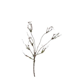"Twig brown - 40.5x8.75x2"""