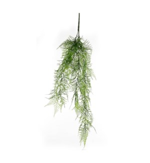 "Fern hanging green - 31.5x2x2"""