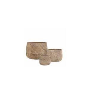 """Mount pot beige - 18.25x13.25"""""""