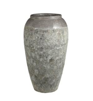 """Etna pot white - 14.5x26.75"""""""