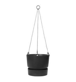 greenville hanging basket 24cm living black