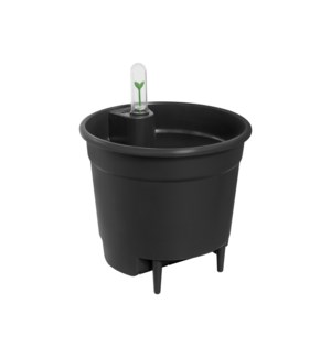 self-watering insert 28cm living black