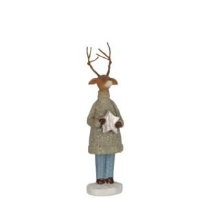 """Deer grey - 2x1.5x7"""""""
