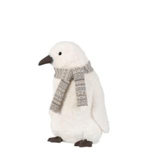 "Penguin white - 14.25x11.75x19"""