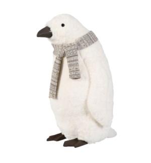 "Penguin white - 22.5x16.5x26"""