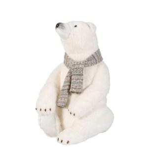 """Polar bear white - 15.75x15.75x22.75"""""""