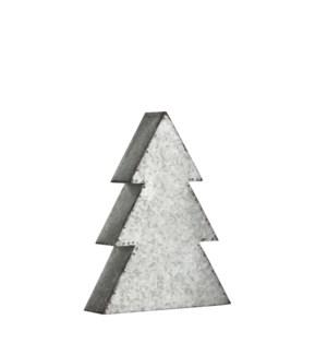 "xmas tree silver - 8.25x2.25x11"""