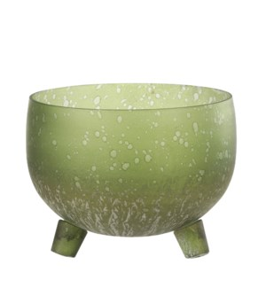 "Candleholder l. green - 5.5x5"""