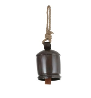 """Ornament bell nickel plated - 4x9.75"""""""