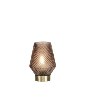 """Fanny mood lighting brown led battery operated - 4.75x6.75"""""""