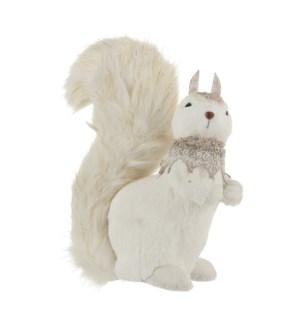 """Squirrel white - 8.75x4.75x12.5"""""""