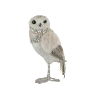 "Owl grey - 5.5x4.25x9.75"""