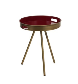"""Imperia side table d. pink - 19.75x16.5"""""""