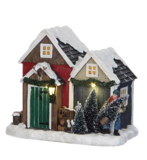 Christmas tree shop battery operated - 6x4.25x5""
