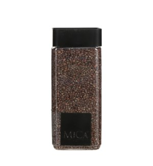 Granulate brown glitter gold 1kg - 3x3x6""