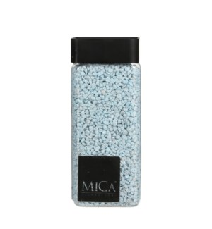 """Granulate l. blue glitter silver 1kg - 3x3x6"""""""