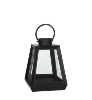 "Lantern black - 8.75x8.75x12"""