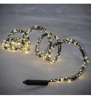 String bundle green w. white 240led 8 function - 6.5'