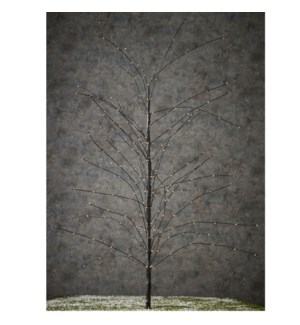 Tree black warm white 140led - 60""