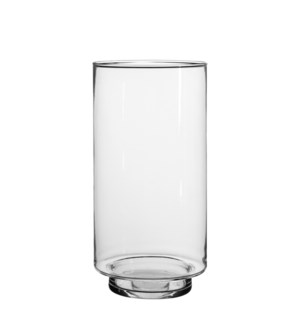Tigo vase transparent in giftbox - 5.75x11.5""