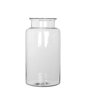 "Mathew vase transparent - 7.5x13.75"""