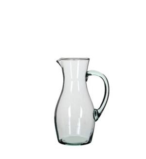 "Nicci jug transparent - 3.5x10.75"""