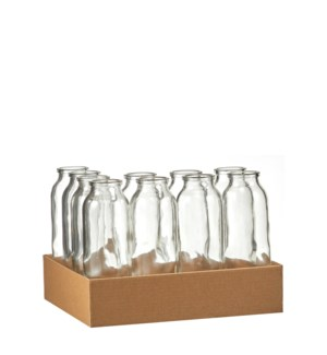 Skipp bottle glass - 2.25x6.25""
