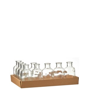 Skipp bottle glass - 2.25x4.25""