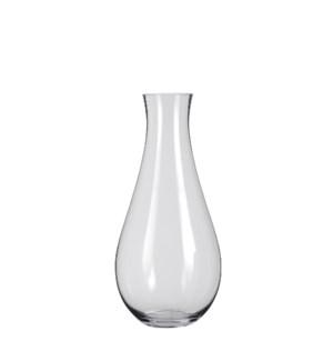 "Fortune vase glass - 11.5x23.75"""