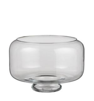 """Darla bowl glass - 13.75x11.5"""""""