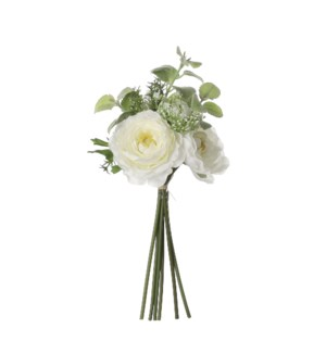 Bouquet camelia cream - 10.25x6.25""
