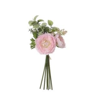 "Bouquet camelia pink - 10.25x6.25"""