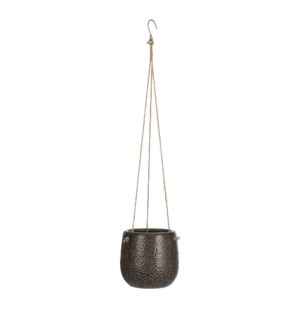 Adam pot hanging brown - 6x5.25""