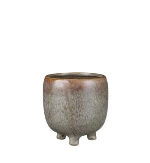 """Denise pot round brown - 5x5"""""""